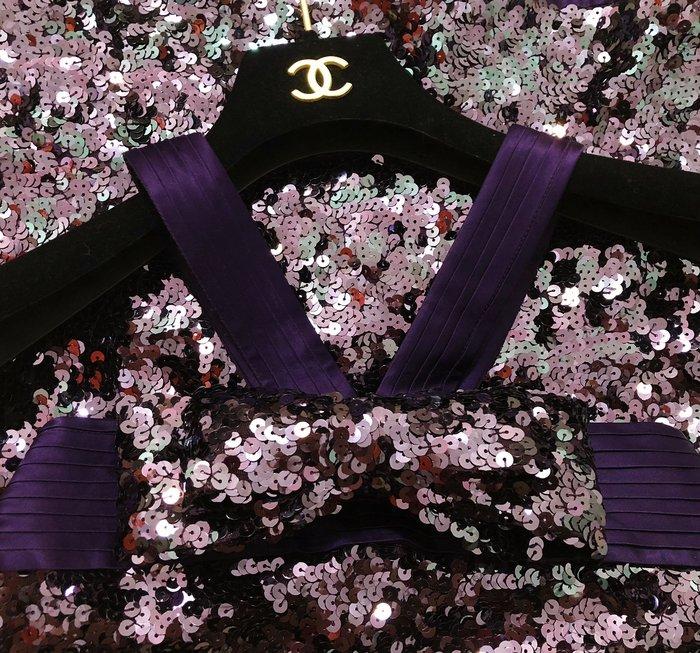 原價$36800 國宴設計師林國基 GOJI LIN 超華麗神秘葡萄紫🍇大蝴蝶結亮片