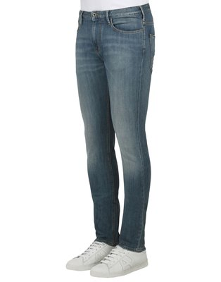 【EZ兔購】~正品美國Armani Jeans 亞曼尼 AJ  彈力 修身 牛仔褲 ~現貨33腰 還有