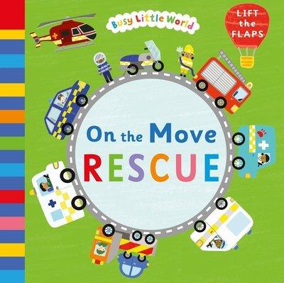 *小貝比的家 *BUSY LITTLE WORLD ON THE MOVE RESCUE /硬頁/3~6歲/翻翻書
