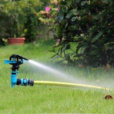 【單旋轉噴頭+接頭一套-KN229-1套/組】4分單通插地式園藝園林草坪農用自動灑水器-5170855
