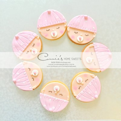 【Connie's Home Sweets】百日宴回禮曲奇/百日宴回禮禮物/生日回禮曲奇/生日回禮禮物/100 days cookie/birthday