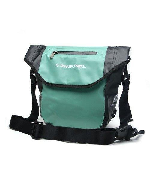 日本STREAMTRAIL戶外防水包/斜揹包/通勤包/口袋隨身包Pocket Master DX翡翠綠