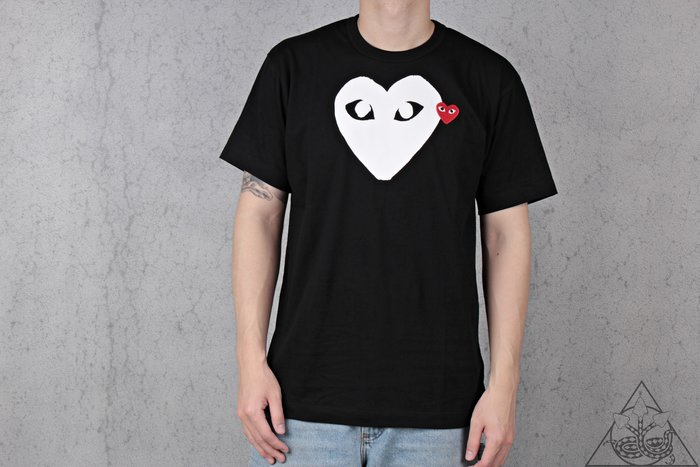 【HYDRA】Comme Des Garcons White Heart Tee 白愛心 短T【CDG06】