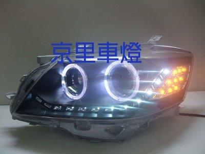 京里車燈專網 豐田 TOYOTA CAMRY 6代 6.5代 06-11年 大燈 雙光圈R8方向燈LED式樣