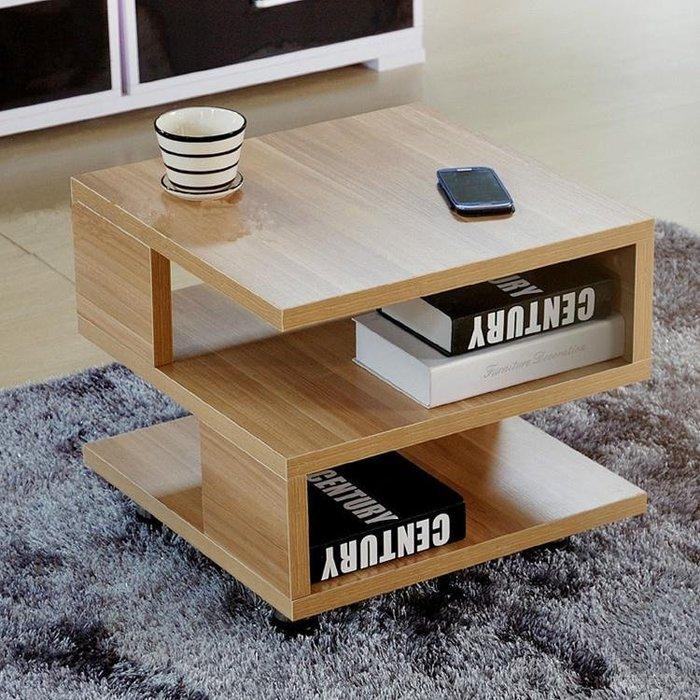 組裝木制臥室迷你床頭柜簡約現代簡易小柜子床邊柜榻榻米茶幾NNJ-1331【暖暖居家】