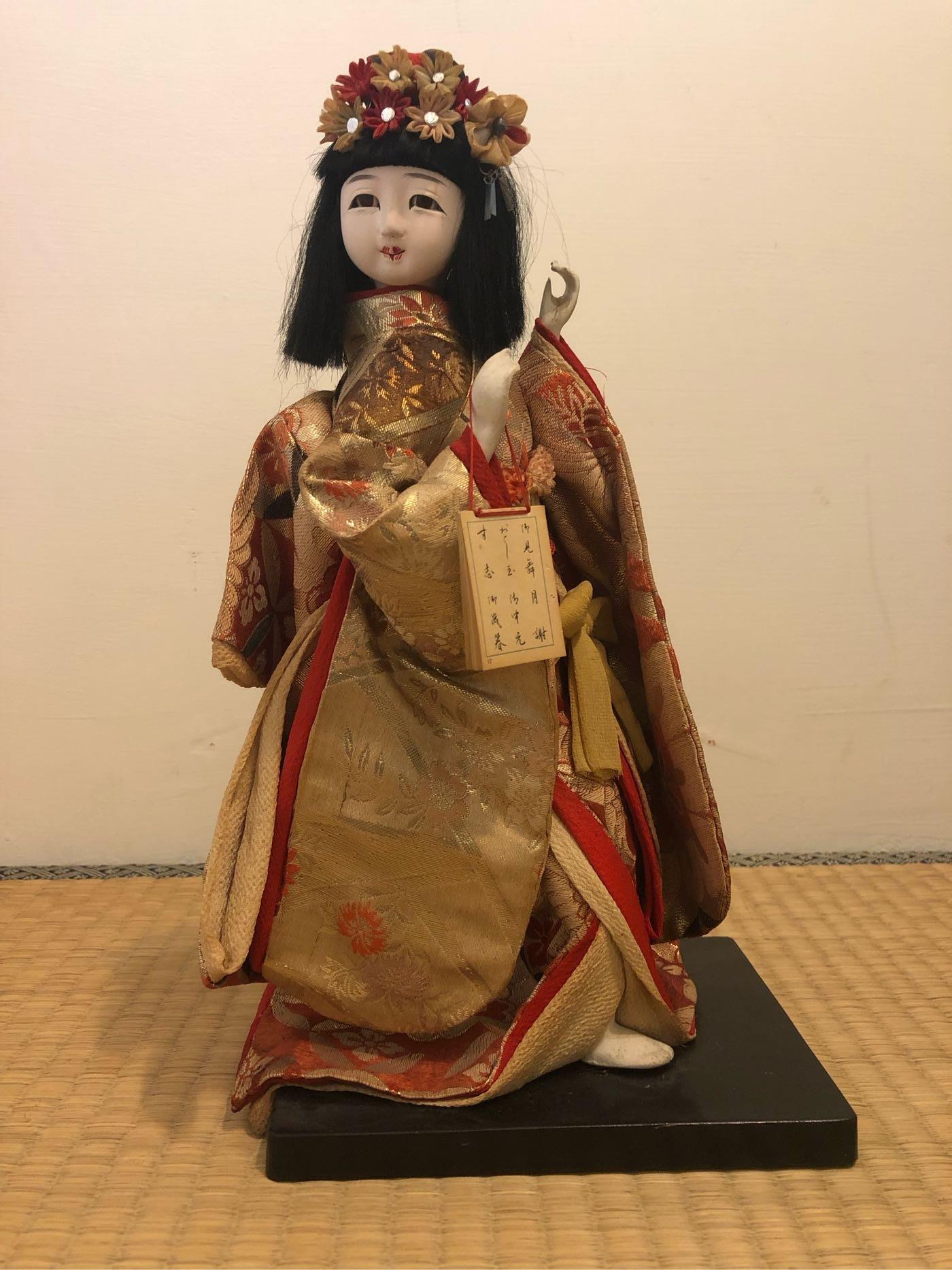 日本古物人形娃娃