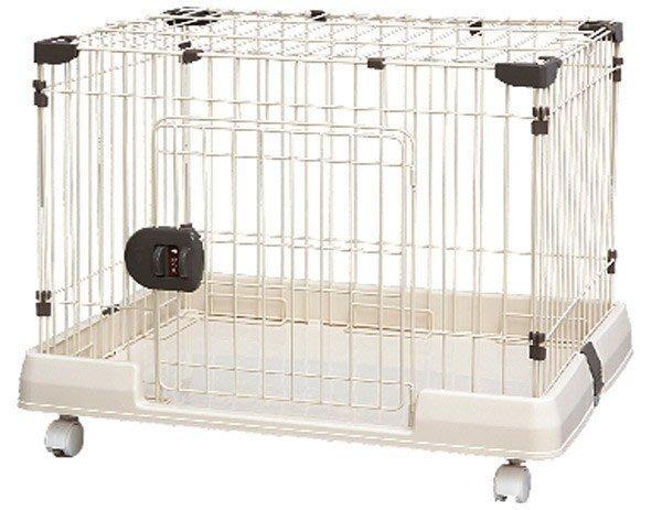 IRIS高級電鍍可掀頂圍片籠 寵物籠 狗籠 貓籠RKG-700L(附輪&有門)小動物室內籠,每件2,500元