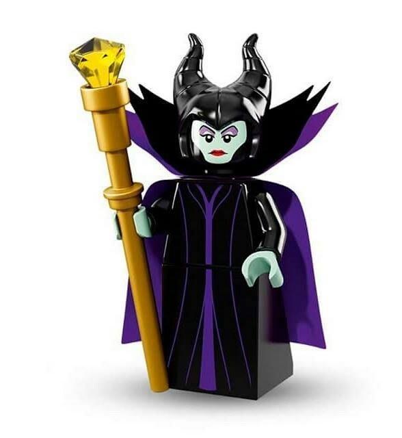 現貨【LEGO 樂高】Minifigures人偶系列:迪士尼Disney 人偶包抽抽樂71012 | 黑魔女