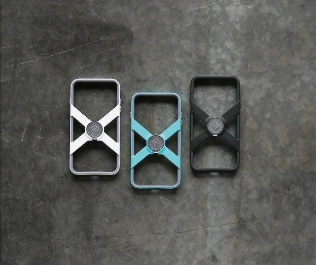 (I LOVE 樂多) X-Guard for iPhone 7 PLUS 5.5吋保護殼X鏤空設計輕量贈公扣&手機背貼