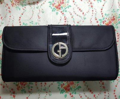 【巴黎淑女】 Giorgio Armani GA 亞曼尼 奢華晚宴手袋/ 手拿包/ 化妝包/ 長夾/ 晚宴包 質感很好 附紙盒 新竹市