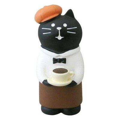 【JPS日貨】日本 全新正品 concombre 萬聖節系列 黑貓咖啡館黑貓主人