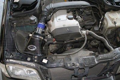 CS車宮車業 SIMOTA 碳纖維 超導流 進氣 CF655-01 BENZ W202 C200 M111 93-00