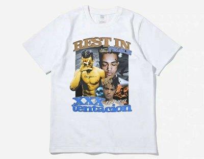美國 饒舌 XXXTentacion 紀念 短T 嘻哈 饒舌 HIP HOP RAP 尺寸:S~3XL