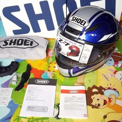 {出清價限量款}可分24期 SHOEI Z7 YAMAHA RACING 聯名限定款 輕量化 全罩式安全帽可配R3 R6 R1 Z-7 X14 rx7x  k3