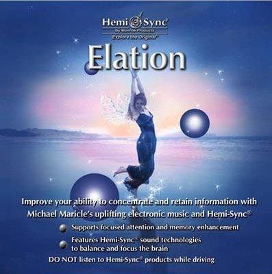 [心靈之音] 興高采烈 Elation-美國孟羅Hemi-Sync雙腦同步CD美國進口-拆封福利品公司貨