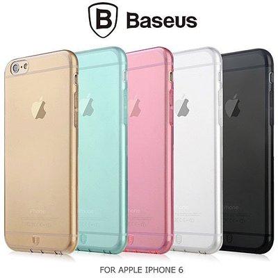 *PHONE寶*BASEUS 倍思 APPLE iPhone 6 (4.7) 簡系列保護套 超薄設計 軟套 軟質保護殼