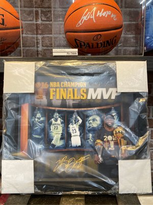 NBA LBJ Lebron James 2016總決賽MVP 復刻簽名掛飾
