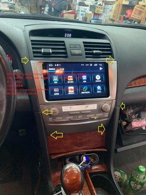 弘群汽車音響Toyota 2009 Camry安裝JHY A23 (9吋)4核心 2G+32G 高階安卓主機(衛星導航、