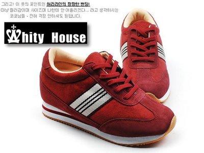 =WHITY=韓國正品MZ韓國製 隱形內增高8CM真皮休閒鞋可愛百搭耐看舒適哈韓必備SOV6537