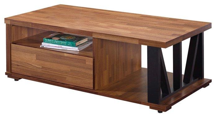 FA-246-1 雷德4尺柚木色大茶几/限新竹以北/家具/餐桌椅/衣櫃/系統家具/沙發/床墊/茶几/高低櫃/1元起