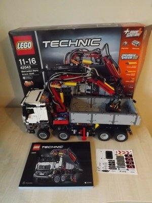 二手 已絕版 LEGO 42043 Mercedes-Benz Arocs 3245 樂高 科技
