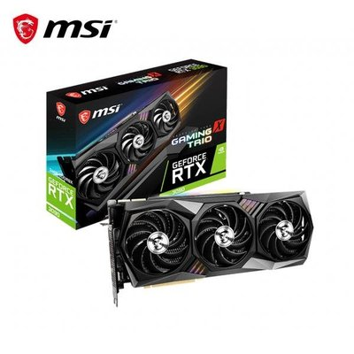 @電子街3C特賣會@全新微星MSI GeForce RTX 3090 24G GAMING X TRIO RTX3090
