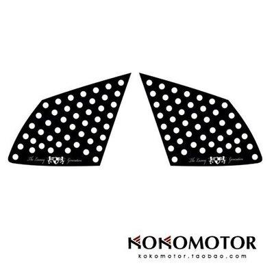 全KIA CARENS專用車身拉花裝飾貼 韓國進口汽車內飾改裝飾品