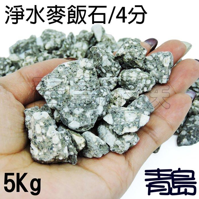 五月缺Y。。。青島水族。。。KS-Z996-5淨水麥飯石 淨化水質 除毒 淨水 濾材 過濾石材==4分(散裝)/5kg