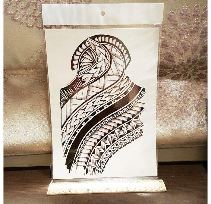 【萌古屋】箭頭圖騰手臂大圖 - 男女防水紋身貼紙原宿刺青貼紙AL-031 K28