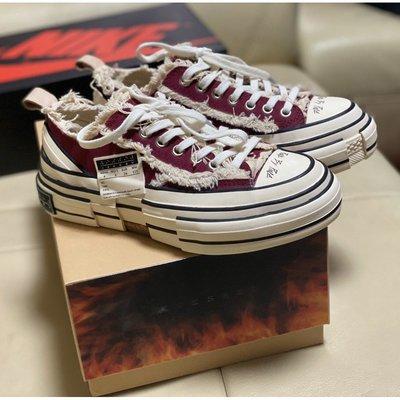 xVessel G.O .P  Lows Red 女款 吳建豪 紅色  休閒鞋 帆布鞋 S19X001R