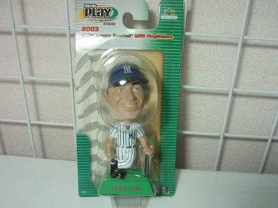 貳拾肆棒球-日本帶回美國職棒大聯盟 MLB紐約洋基UD Upper Deck  DEREK JETER 搖頭娃娃