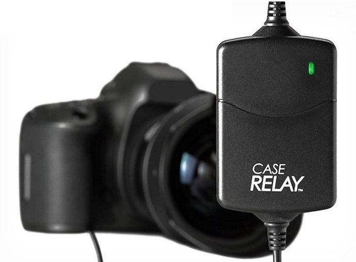 呈現攝影-CASE Relay 數位相機不斷電供電器組 7.4V 內建電池1200mAh 5V行動電源 假電池 縮時錄影