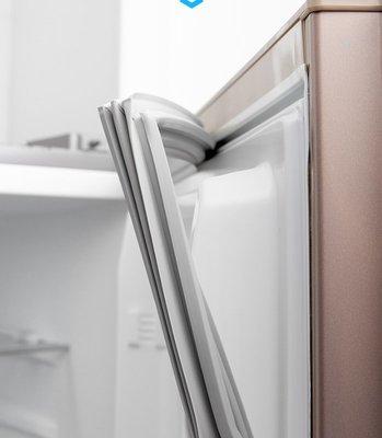 蜜久家電冰箱門封條磁性密封條膠條冷凍櫃封條電冰箱門封條磁性密封條膠條海爾美的新飛美菱萬能磁條膠圈條通用