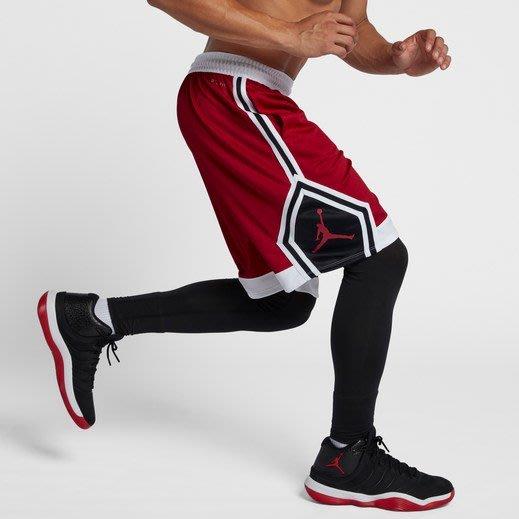 【BJ.GO】美國 Jordan Rise Diamond Shorts 喬丹吸濕排汗運動短褲 籃球短褲