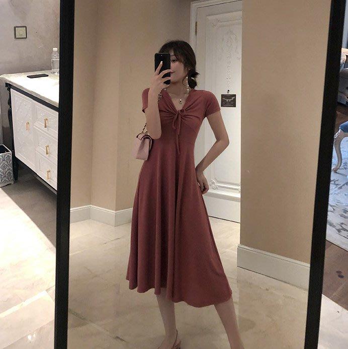 創意夏季女裝 大碼女裝胖mm網紅夏季新款連衣裙胖妹妹法式少女顯瘦減齡長裙
