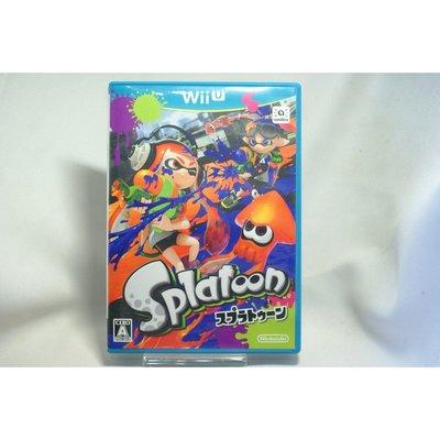 [耀西]二手 純日版 任天堂 Wii U WiiU 漆彈大作戰 Splatoon 含稅附發票
