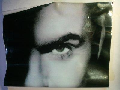George Michael Older 玻璃貼紙海報 75X26CM 長條狀 材質為防水塑膠 收藏成捲筒狀