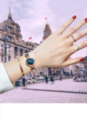 【瘋狂夏折扣】手錶女學生韓版簡約抖音星空女士防水網紅時尚潮流ulzzang