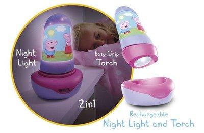 Peppa Pig Go Glow Light and Torch 全新 未開盒 B4