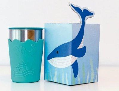 2020 中鋼股東會紀念品 鯨彩都繪冷水杯 330ml TE抗菌不鏽鋼 TE抗菌不銹鋼