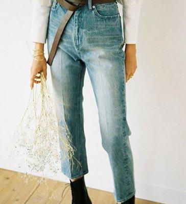 【預購】日本連線CLANE冬19再入荷REMAKE TAPERED DENIM PANTS 復古刷色水洗單寧錐形牛仔褲
