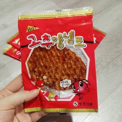 匯盈一館~韓國蜜汁香辣魚片~香辣夠味1...