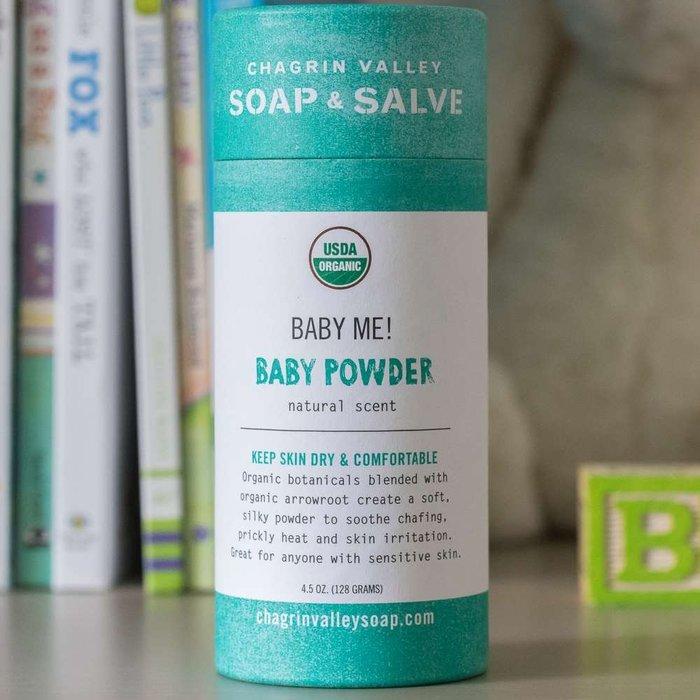 美國Chagrin Valley 有機嬰兒寶寶爽身粉 4.5OZ