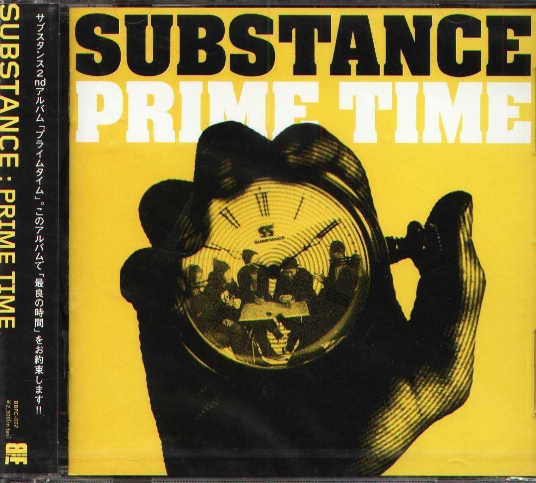 K - SUBSTANCE - PRIME TIME - 日版 - NEW