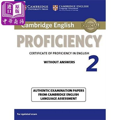 Cambridge English Proficiency 2 Students Book without Answer