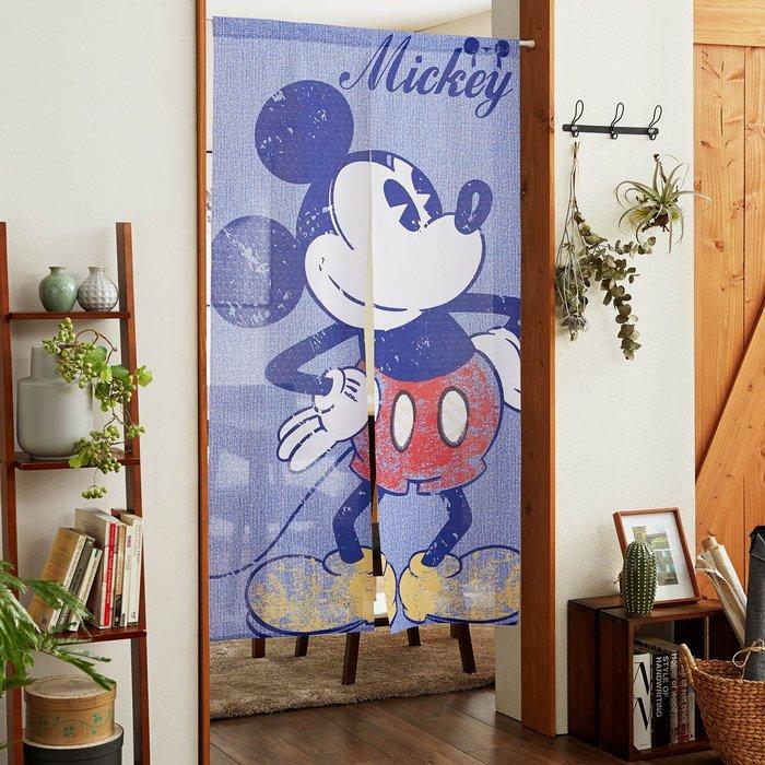 迪士尼Disney《預購》米奇 門簾 簾子~日本正品~150X85cm~心心小舖