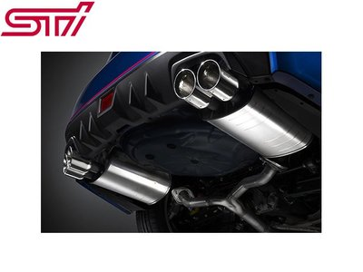 【Power Parts】STI 雙出排氣管(中尾段) SUBARU IMPREZA WRX STI 2014-