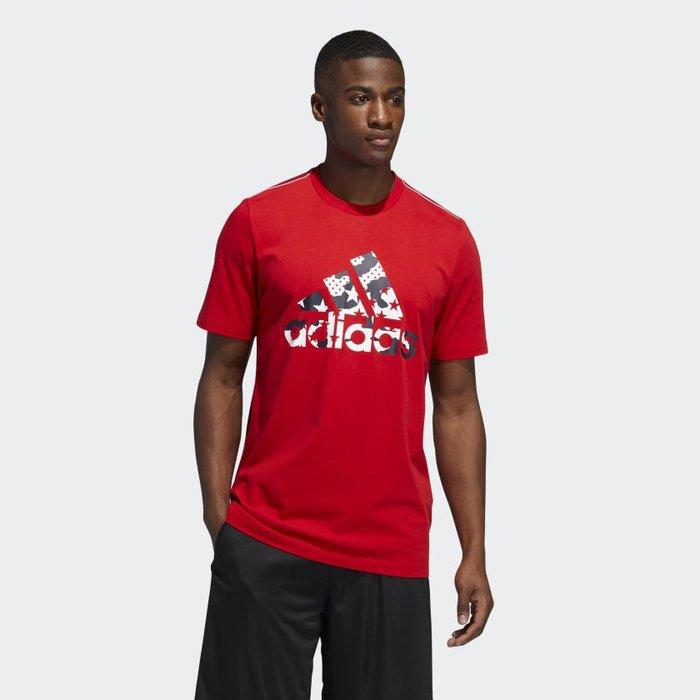 南 2020 6月 Adidas TRAINING AMERICANA TEE GK3624  紅 美國 愛迪達 短T