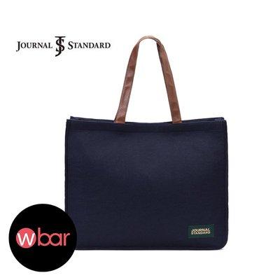 ☆wbar☆日本JOURNAL STANDARD學院風毛氈托特包 可放A4文件袋 單肩包 側背包 側肩包 肩背包 手提包
