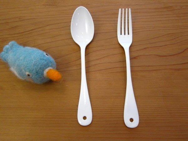 發現花園 日本選物~日本製   純白系列 琺瑯 餐具 - 大餐匙 /大餐叉